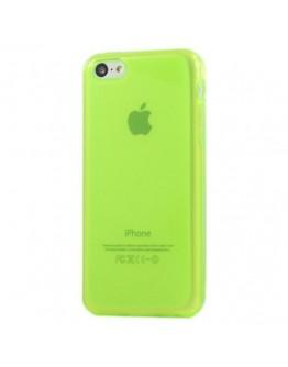 Husa protectie din silicon pentru Iphone 5C - verde